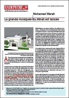 La grande mosquée du Mirail est lancée