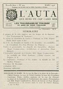 L'AUTA n°409 Mars 1975